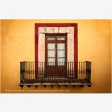 Guanajuato Door Study 2 Stock Image, Mexico