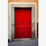 Guanajuato Door Study 3 Stock Image, Mexico