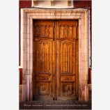 Guanajuato Door Study 4 Stock Image, Mexico