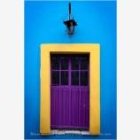Guanajuato Door Study 6 Stock Image, Mexico