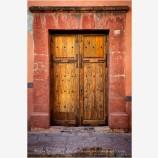 Guanajuato Door Study 9 Stock Image, Mexico