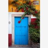 Guanajuato Door Study 10 Stock Images, Mexico