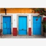 Guanajuato Door Study 11 Stock Image, Mexico