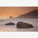 Tangerine Dream Stock Image, Northern California Coast