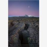 Volcanic Legacy Print, Three Sisters, Oregon