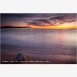 Sea Of Cortez Sunrise 2 Stock Image, Baja, Mexico