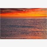 Sea Of Cortez Sunrise 3 Stock Image, Baja, Mexico
