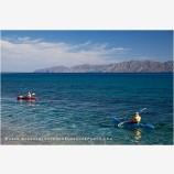 Baja Kayaking 1 Stock Image, Baja, Mexico