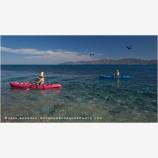 Baja Kayaking 2 Stock Image, Baja, Mexico