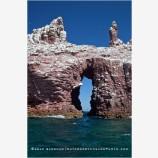 Isla Espiritu Santo Arch 1 Stock Image, Baja, Mexico
