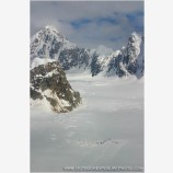 Kahiltna Base Camp Stock Image, Alaska