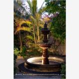 Garden Fountain 1 Stock Image, Baja, Mexico