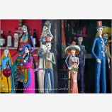 Day Of The Dead Figurines Stock Image, Baja, Mexico