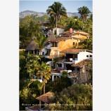 Sayulita Houses Stock Image, Mexico