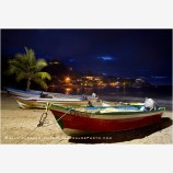 Fishing Boats Stock Image, Sayulita, Mexico