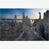Mono Lake 1 Stock Image, California