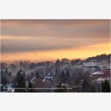 Jacksonville At Sunrise Stock Image, Jacksonville, Oregon
