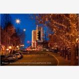 Festival Of Light 4 Stock Image, Ashland, Oregon