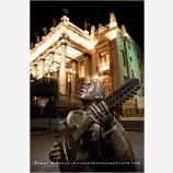 Teatro Juarez 4 Stock Image, Guanajuato, Mexico