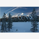 Mt. Bachelor 2 Stock Image, Bend, Oregon