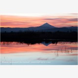 Mt. McLoughlin Stock Image, Oregon