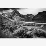 Owyhee Sage Stock Image, Owyhee River, Oregon