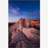 Twilight Inertia Stock Image, White Pocket, Arizona