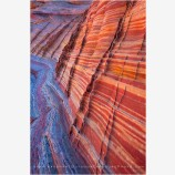 Zebra Wall Stock Image, Coyote Buttes, Arizona