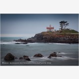 Crescent City Lighthouse 1 Stock Image, California