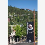 Oregon Shakespeare Banner, Ashland, Oregon