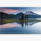 Sparks Lake Sunrise 1, Oregon