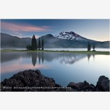 Sparks Lake Sunrise 2, Oregon