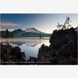 Sparks Lake Sunrise 3, Oregon