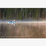 Kayaking On Waldo Lake, Oregon 2