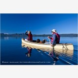 Canoeing On Waldo Lake, Oregon 2