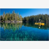 Kayaking On Waldo Lake, Oregon 4