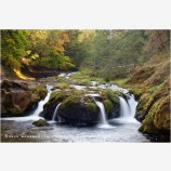 South Umpqua River Stock Image, Oregon