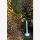 Outlet Falls Stock Image, Yakima County, Washington