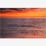 Cortez Sunrise 3 Stock Image, Baja, Mexico