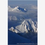Above The Shadow Lands Stock Image, Mt. McKinley, Denali National Park, Alaska
