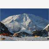 Base Camp Stock Image, Denali, Alaska