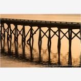 Winchester Pier I Stock Image, Winchester Bay, Oregon