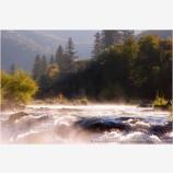 Nugget Falls Stock Image, Rogue River, Oregon