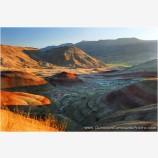 Painted Hills II Stock Image, Wheeler County, Oregon