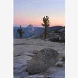 Half Dome in the Distance Stock Image, Yosemite, California
