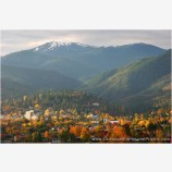 Below Mount Ashland Stock Image, Ashland, Oregon