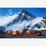 Four out of Five Climbers Agree Stock Image, Aconcagua, Argentina