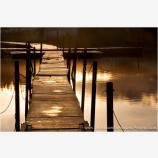 Golden Dock Stock Image Hyatt Lake, Ashland, Oregon