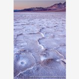 Last Light Badwater Stock Image, Death Valley, California