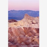 Dawn Zabriscie Point Stock Image, Death Valley, California
